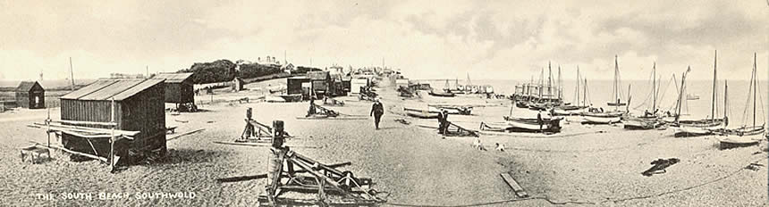 South Beach in the early 1900s.