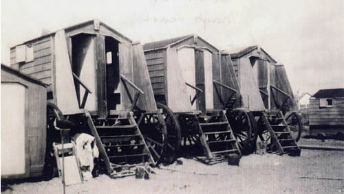 Bathing Machines close-up