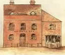 How the 'Swan Hotel' looked at the end of the 18th Century