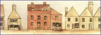 The Swan Hotel as it appeared  in late 18th century