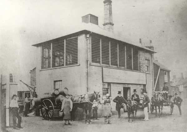 Sole Bay Brewery in 1866