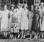 Homeknit workers in 1930s