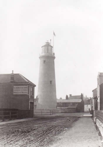 Southwold Lighthouse in approx 1891