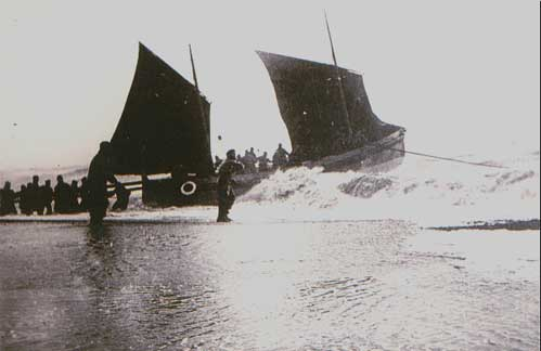 The Alfred Corry launching