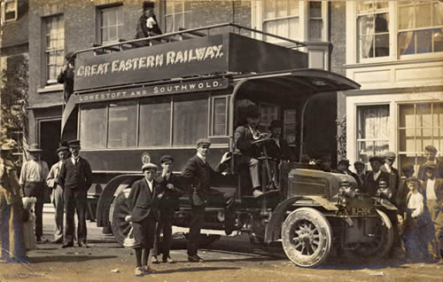 Great Eastern Railways  Motor Coach