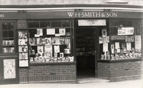 W.H Smiths in the 1950s